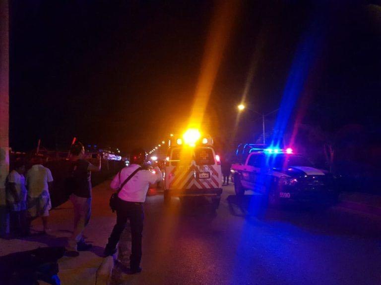 Ataque armado en Puerto Juárez, subdelegación de Cancún