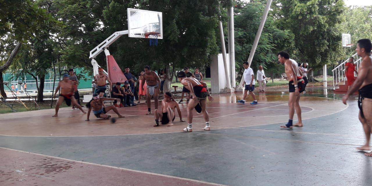 Con jugadores yucatecos, México ganó Copa de Pelota Maya