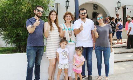 Alcaldesa de Mérida llama a sumarse y participar en familia para ejercer el voto