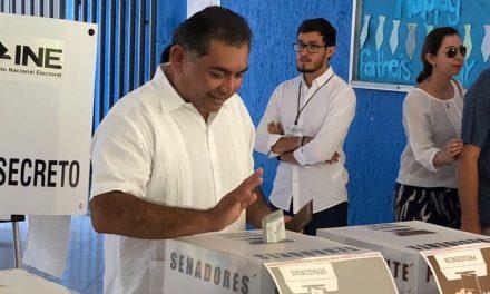 La elección, expresión de madurez democrática: Víctor Caballero Durán