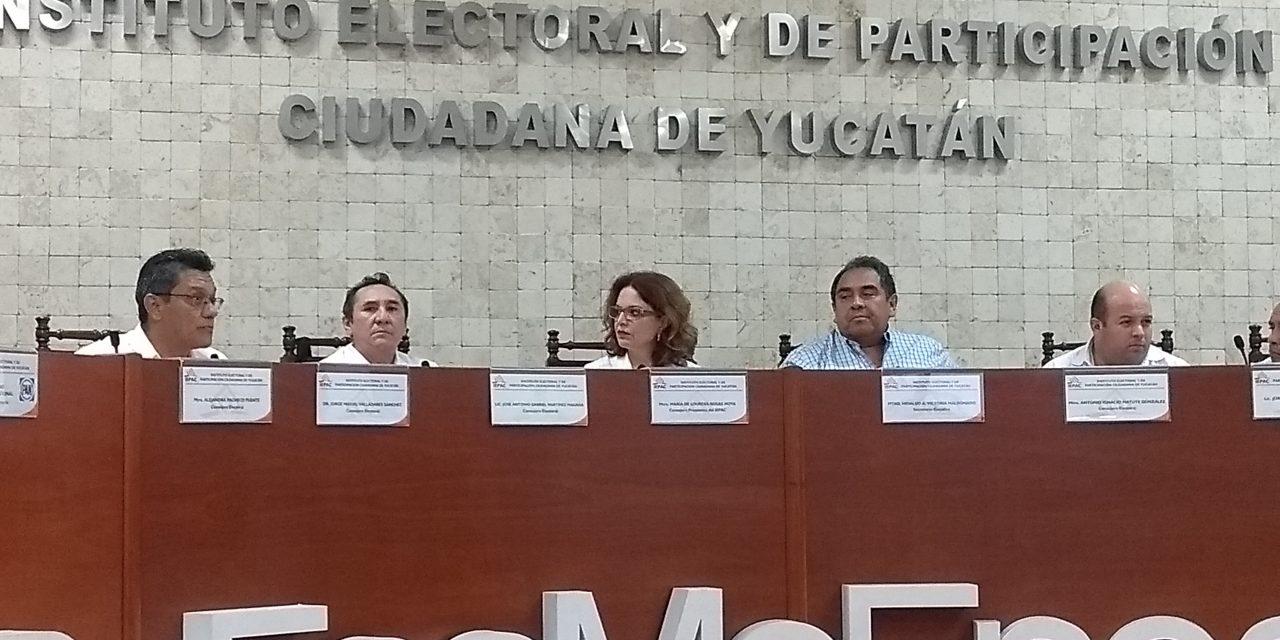 Termina conteo y entregan constancias en 103 municipios yuctecos