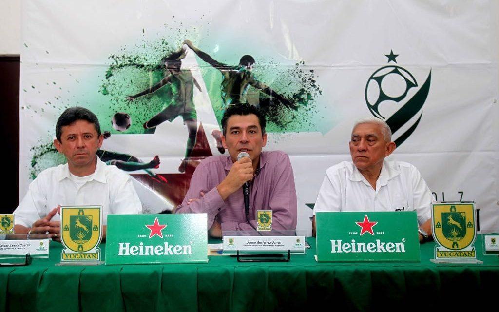 Copa Heineken de Fútbol 7 incluye a Yucatán como sede