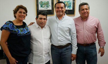 Ayuntamiento cercano y sensible, también con   migrantes meridanos.- Renán Barrera