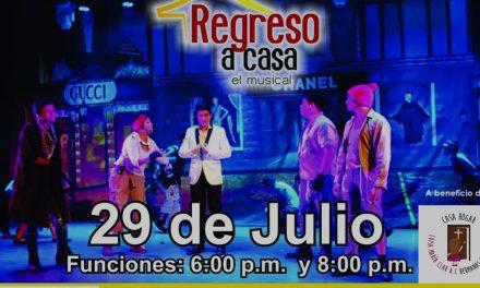 Obra musical estilo Broadway en Mérida, a beneficio de Casa Hogar