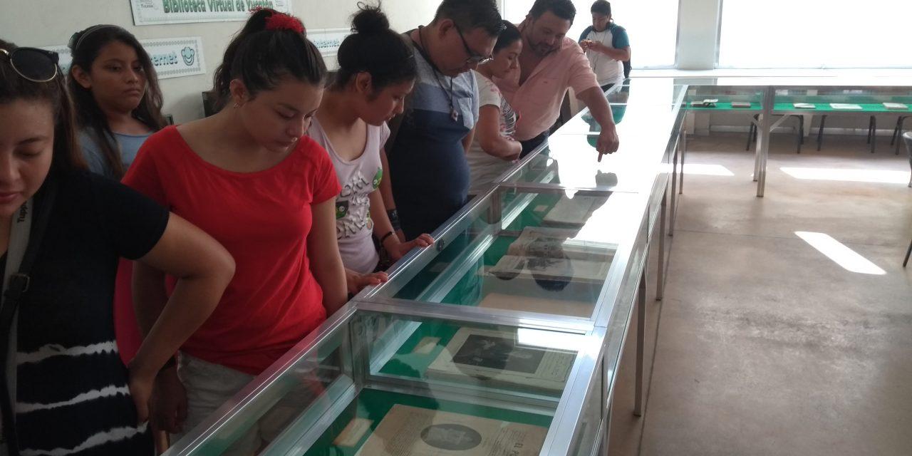 A exhibición acervo de visita de Porfirio Díaz a Yucatán