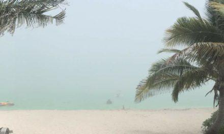 Singular fenómeno sorprendió en playas yucatecas