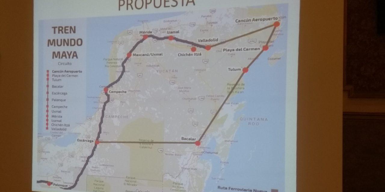 Tren del Mundo Maya no puede excluir a Yucatán