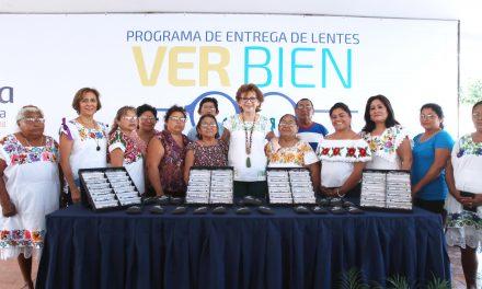 """""""Ver Bien"""", programa en Mérida que alcanzó a 7 mil 200 niños, jóvenes y adultos mayores"""