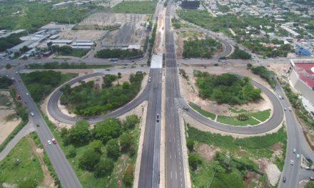 Abrirá circulación vial en cuerpo interior del distribuidor vial a Progreso