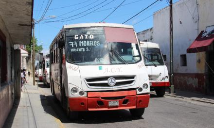 Apelan 'sensibilidad' en tarifas de transporte urbano en Mérida