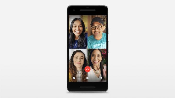 WhatsApp ahora permite realizar llamadas grupales de voz y vídeo
