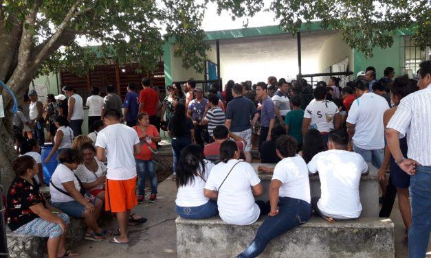 Gritos, empujones, compra de votos, boletas alteradas, en elecciones de Yucatán