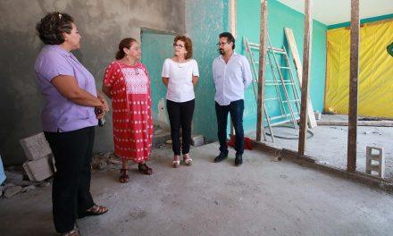 Alcaldesa supervisa obras en Centro de Atención y Refugio para Mujeres