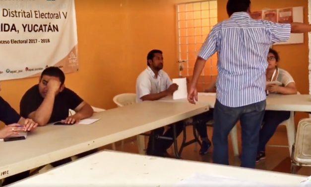 Inicia conteo de votos en Yucatán: ganadores, entre hoy y el domingo (video)