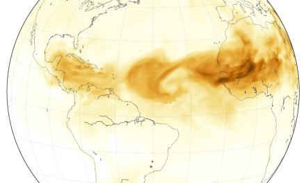 'Nube' de polvo del Sahara más grande en 15 años llega a Península de Yucatán