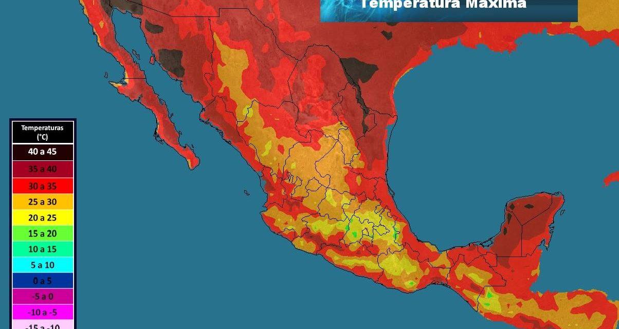 'Viene' temperatura récord de 41º a Mérida este lunes… y toda la semana (videos)