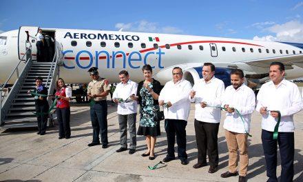 'Desplome' de ruta aérea Mérida-Atlanta; fallan cálculos de nuevo