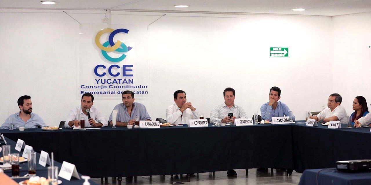 Mauricio Vila se reúne con Consejo Coordinador Empresarial