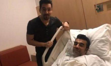 Adrián Uribe ingresa de nuevo a terapia intensiva