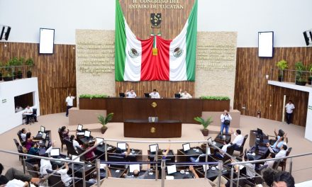 Sacó Congreso Yucatán 11 asuntos en período extraordinario 'exprés'