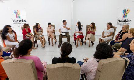 Yucatán, firme en la protección de los derechos de las mujeres