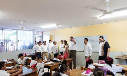 Reparto de útiles escolares en Yucatán llegará a 275 mil alumnos