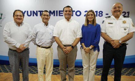 Tercer bloque de propuestas de Renán Barrera para Ayuntamiento Mérida