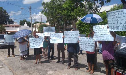 Presionan panistas de Kanasín a magistrados electorales