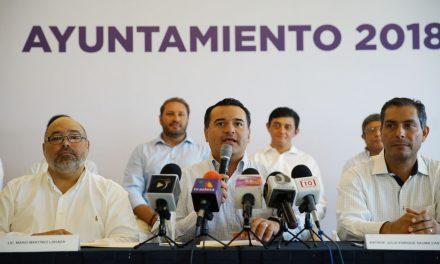 Alcalde electo de Mérida tiende la mano al Gobierno Federal