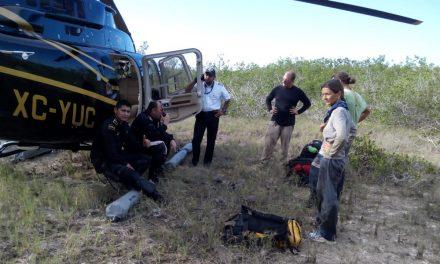 Rescatan a canadienses extraviados en manglares yucatecos