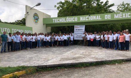 Segundo paro en tecnológicos afecta a tres mil estudiantes yucatecos