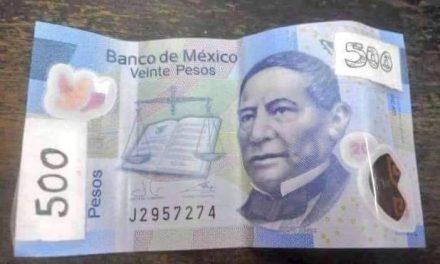 Billetes falsos, pérdida para usuarios engañados