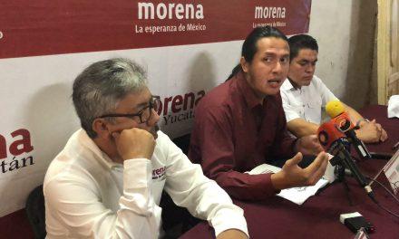 """Morena cierra puerta en Yucatán a tribus, grupos y """"usurpadores"""""""