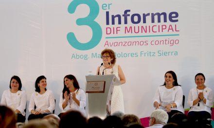 El Tercer Informe de Resultados del DIF Municipal Mérida