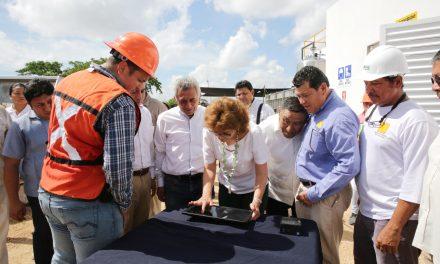 Rastro de Mérida, con planta de tratamiento de aguas residuales