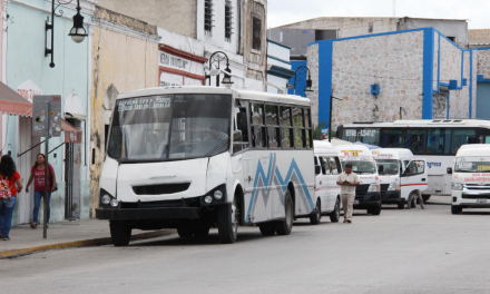 Tarifas en transporte urbano en Mérida tendrán que esperar