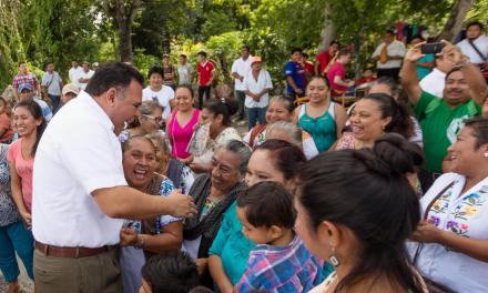 Le hemos cumplido a Yucatán y lo seguiremos haciendo: Rolando Zapata