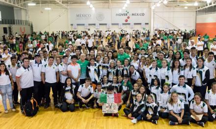 Reconocen logros de atletas locales en Juegos Centroamericanos y Olimpiada Nacional