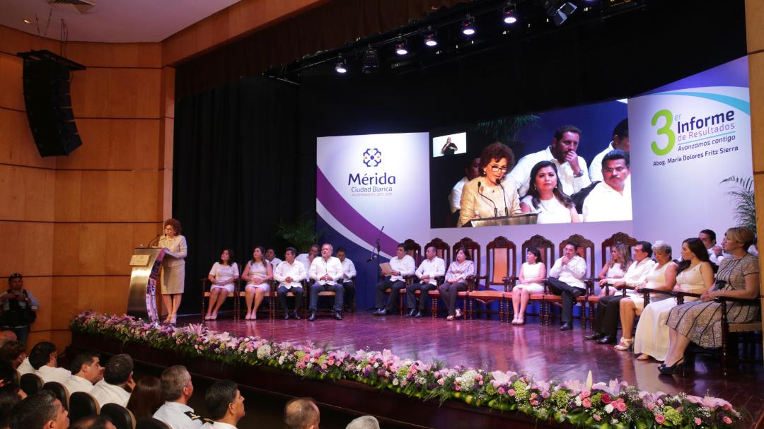 Destacan representantes de la sociedad civil trabajo de Ayuntamiento Mérida