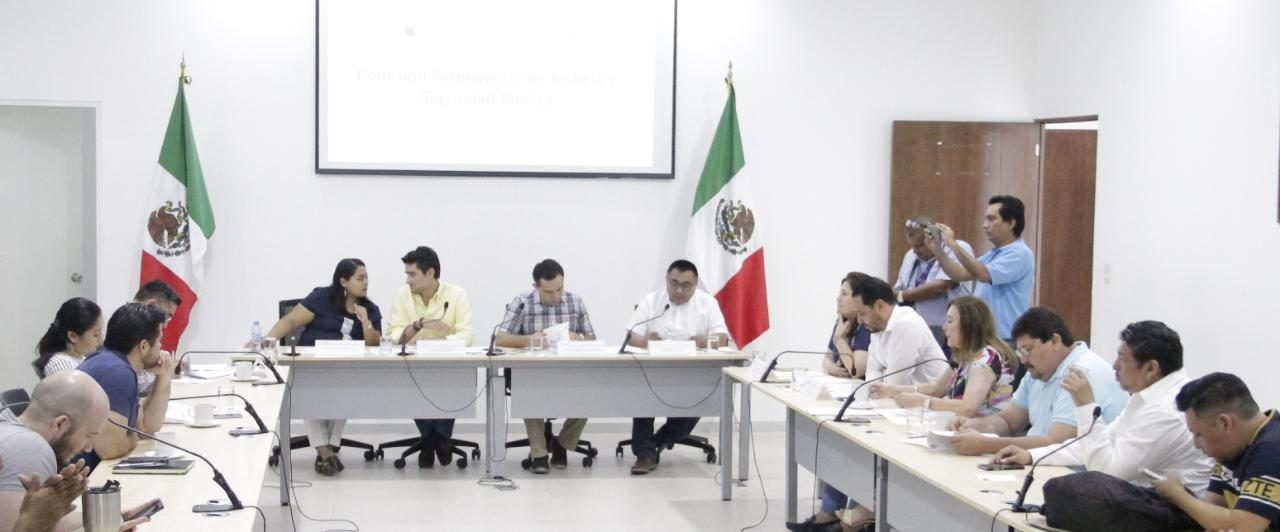 Aprueban en Comisión reformas a Ley del Notariado y al Código Penal de Yucatán