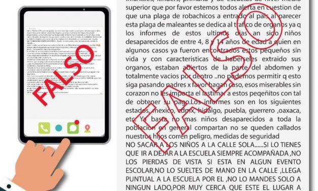 Esta es la 'Fake news' sobre robo de niños en México que ha cobrado la vida de cuatro personas
