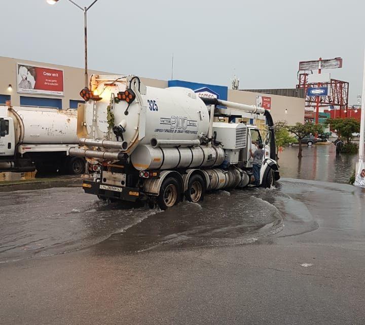 'Ahogan' lluvias a Mérida: 113.5 milímetros en dos días