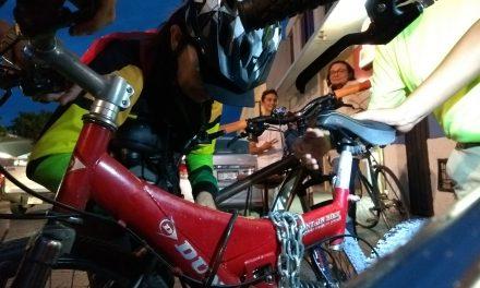 Dan a albañiles y panaderos en Mérida Guía Rápida para manejar bici (video)