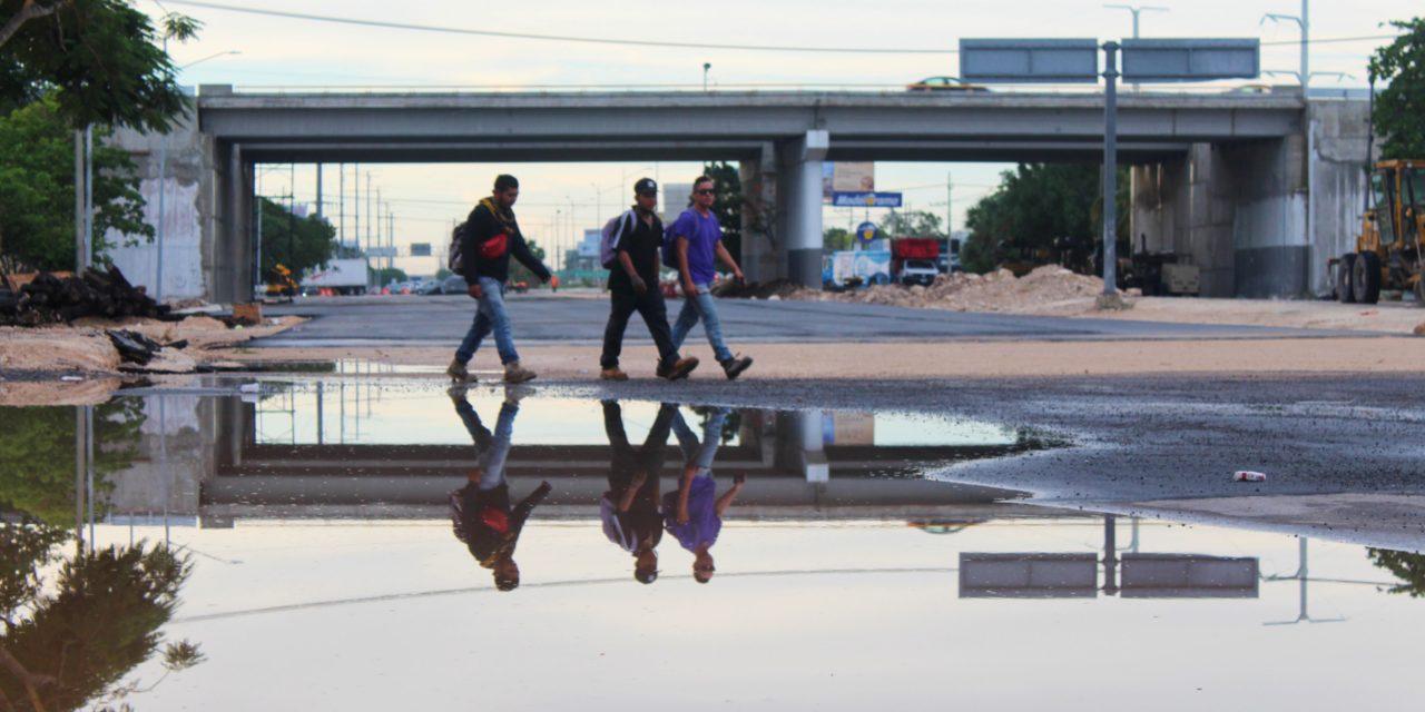 Abren todo el puente de periférico norte; cerrada, salida a Progreso (video)