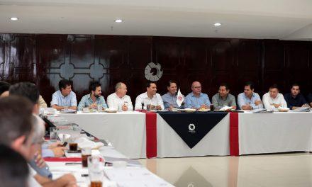Agenda común de Vila y delegación de Canacintra Yucatán
