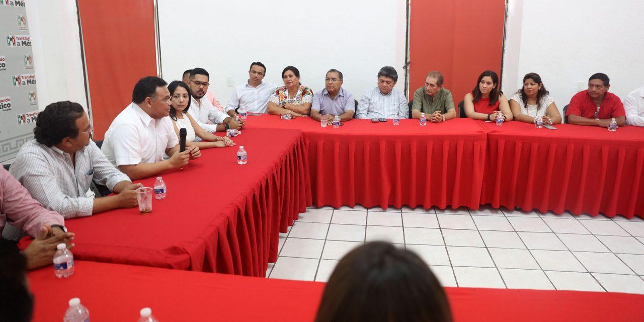 """Rolando Zapata: """"listo para lo que sigue"""", en despedida con cúpula priísta"""