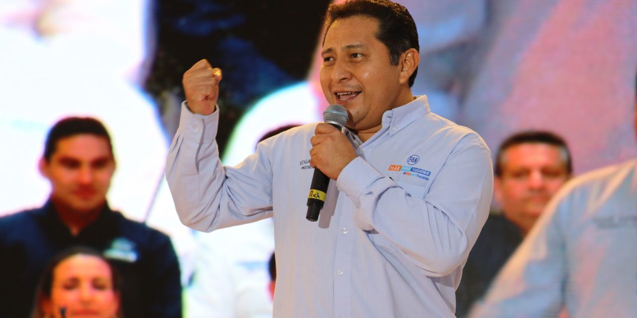 Deja Ramírez Pech dirigencia de PAN Yucatán