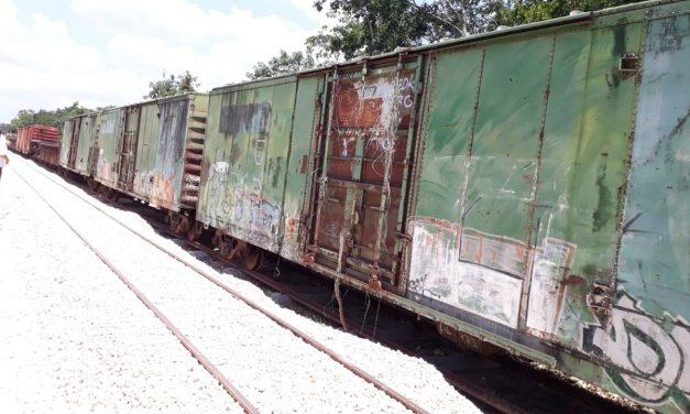 Seguirán cruzando locomotoras y góndolas la ciudad de Mérida