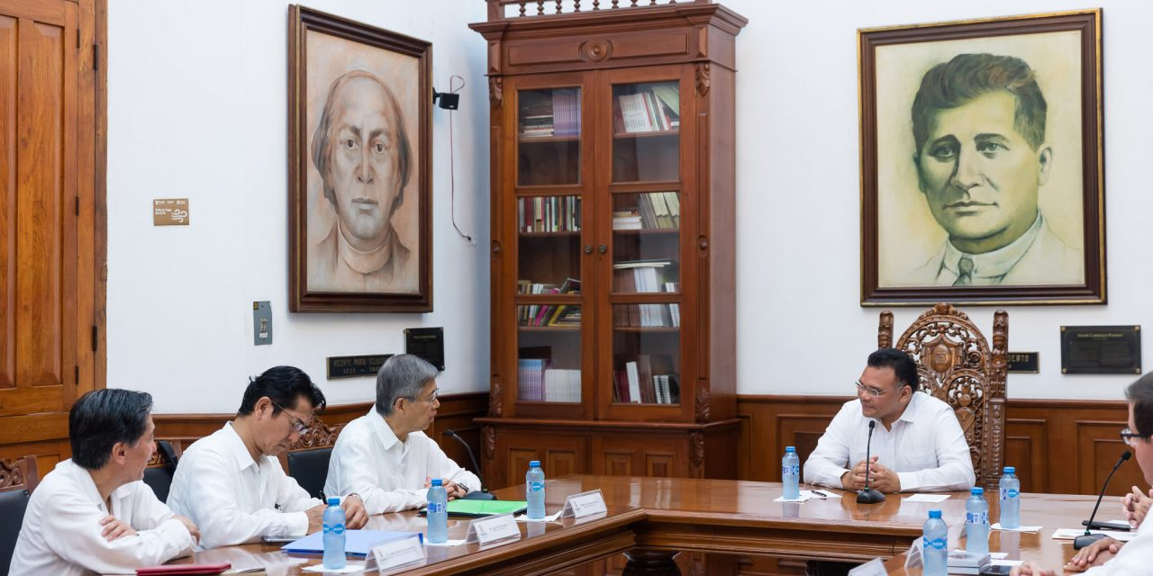 Yucatán y Japón van por mayor cooperación
