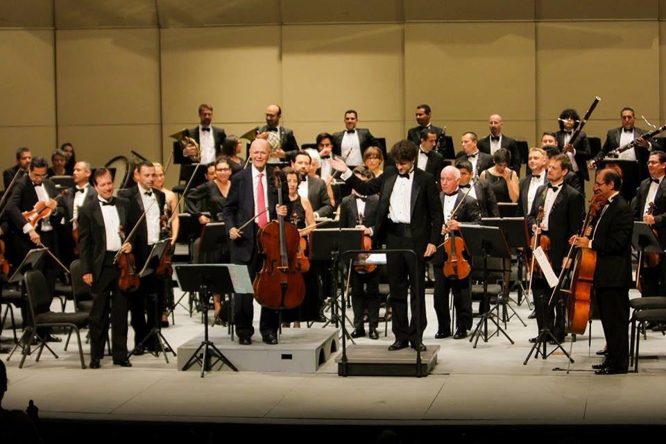 Fusionan brillantez Carlos Prieto y Sinfónica de Yucatán